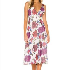 Privacy Please Dress Reina Floral Midi